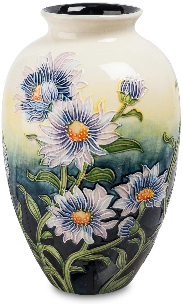Ваза Pavone Хризантема. JP-98/ 2JP-98/ 2Роскошная ваза Хризантема изготовлена из фарфора высококлассными мастерами Pavone. Флористический дизайн изделия выполнен в неброских пастельных оттенках. Ваза великолепно впишется в любой интерьерный стиль, особенно, в классику и романтизм. Подарит ощущение пребывания в палисаднике, усаженном цветами. Ваза Хризантема мысленно перенесет в атмосферу теплого летнего дня. Станет восхитительным украшением домашней обстановки. Фарфоровая ваза идеальна для подарка дорогому человеку.
