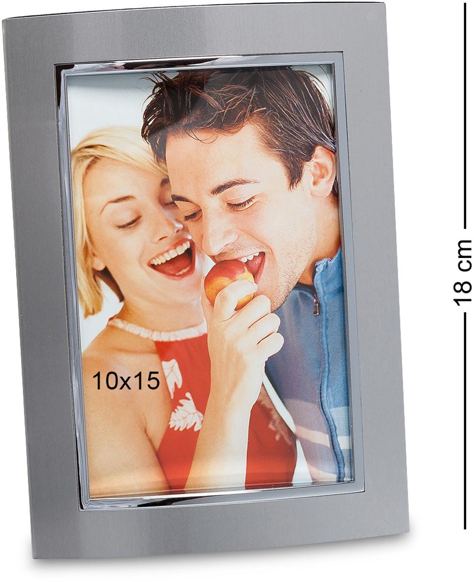 Фоторамка Bellezza Casa Яркое свидание, фото 10х15. CHK-018CHK-018Фоторамка для фотографий 10х15 см (метал блест., матов.) Довольно простая, но симпатичная фоторамка. Красивое исполнение изделия и элегантность дизайна помогут создать незабываемый образ лучших моментов, запечатлённых на фото. Материал изготовления и отсутствие острых углов обеспечат удобство, долговечность и безопасность. Благодаря спокойной и изысканной цветовой гамме идеально подойдёт для любого интерьера.