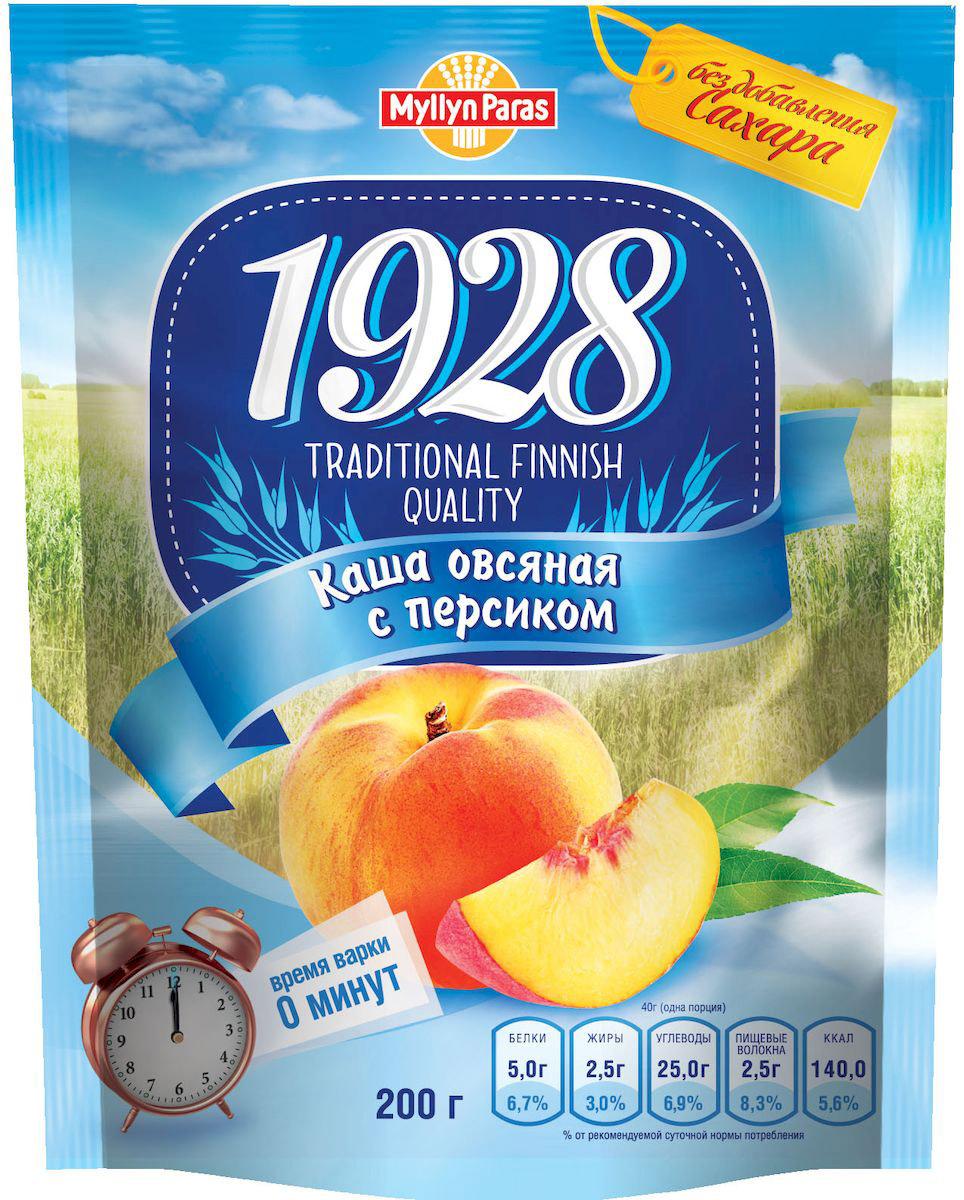 Myllyn Paras каша овсяная с персиком, 200 г