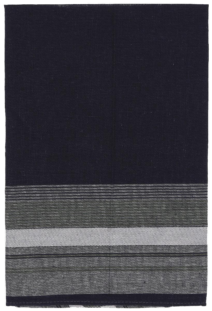 Платок носовой мужской Zlata Korunka, цвет: темно-синий, серый. 45480. Размер 27 х 27 см45480_темно-синий, серыйМужской носовой платой Zlata Korunka изготовлен из натурального хлопка с добавлением полиэстера, приятен в использовании, хорошо стирается, материал не садится и отлично впитывает влагу. Оформлена модель принтом в полоску.
