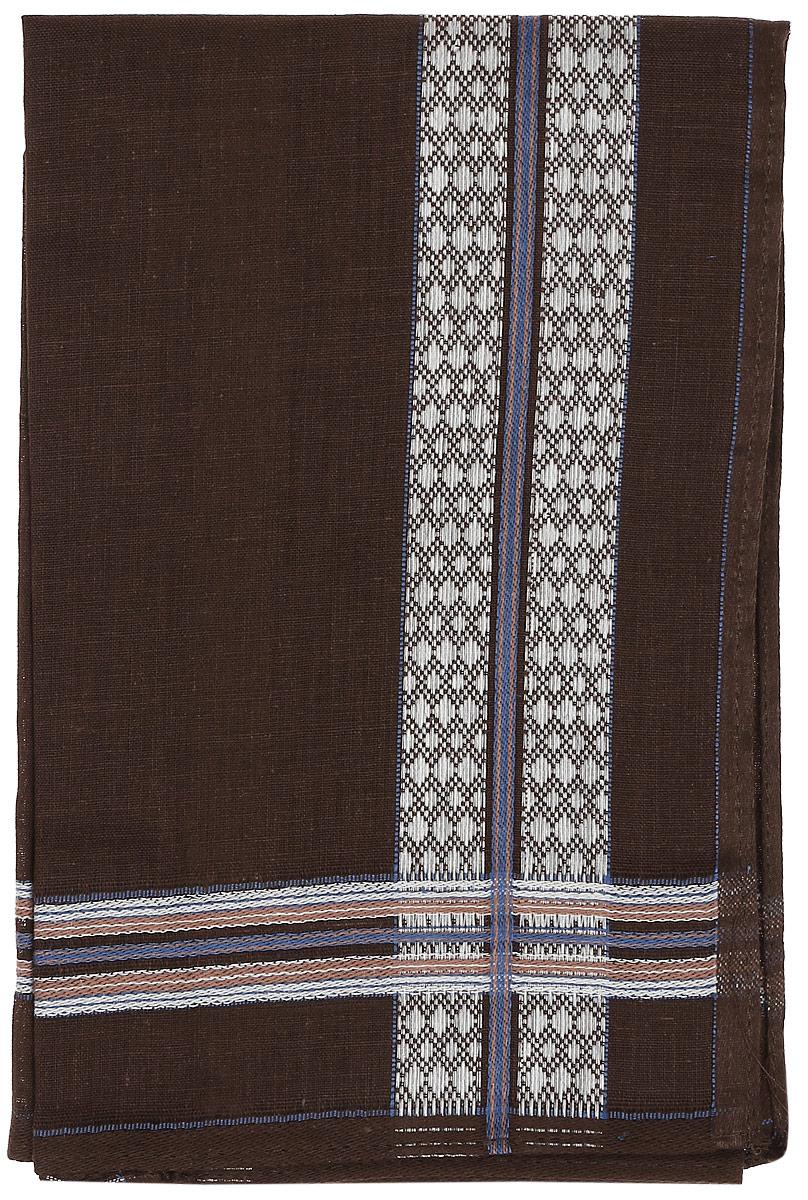 Платок носовой мужской Zlata Korunka, цвет: коричневый. 45560. Размер 27 х 27 см45560_коричневыйМужской носовой платой Zlata Korunka изготовлен из натурального хлопка, приятен в использовании, хорошо стирается, материал не садится и отлично впитывает влагу. Оформлена модель контрастным принтом в полоску.