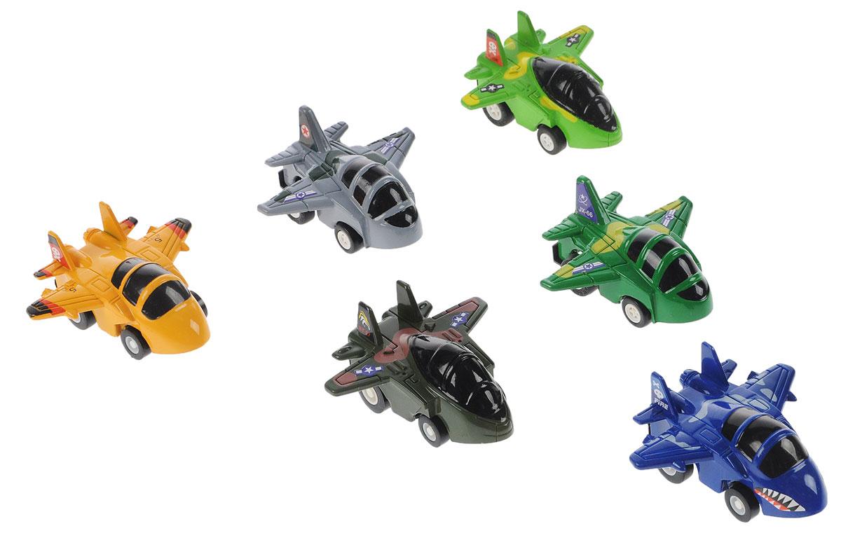 Дрофа-Медиа Набор инерционных игрушек Самолеты 6 шт2819-6FНабор инерционных игрушек Дрофа-Медиа Самолеты понравится детям дошкольного возраста (от 3 лет) и младшего школьного возраста. Играя, они не только интересно проведут свободное время, но и разовьют мелкую моторику рук. Чтобы игрушки рванули с места, их нужно всего лишь немного оттянуть назад, а затем отпустить. С ними можно не только увлекательно играть, но и коллекционировать, собирая свою армию. Уважаемые клиенты! Обращаем ваше внимание на возможный ассортимент в цвете товара. Поставка осуществляется в зависимости от наличия на складе.