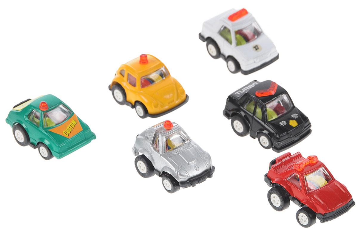 Дрофа-Медиа Набор инерционных машинок Полицейский патруль 6 шт дрофа медиа набор инерционных машинок speedy cars 8 шт