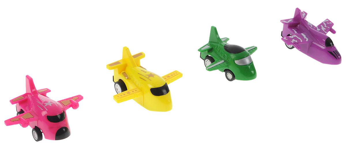 Дрофа-Медиа Набор инерционных игрушек Самолеты 4 шт