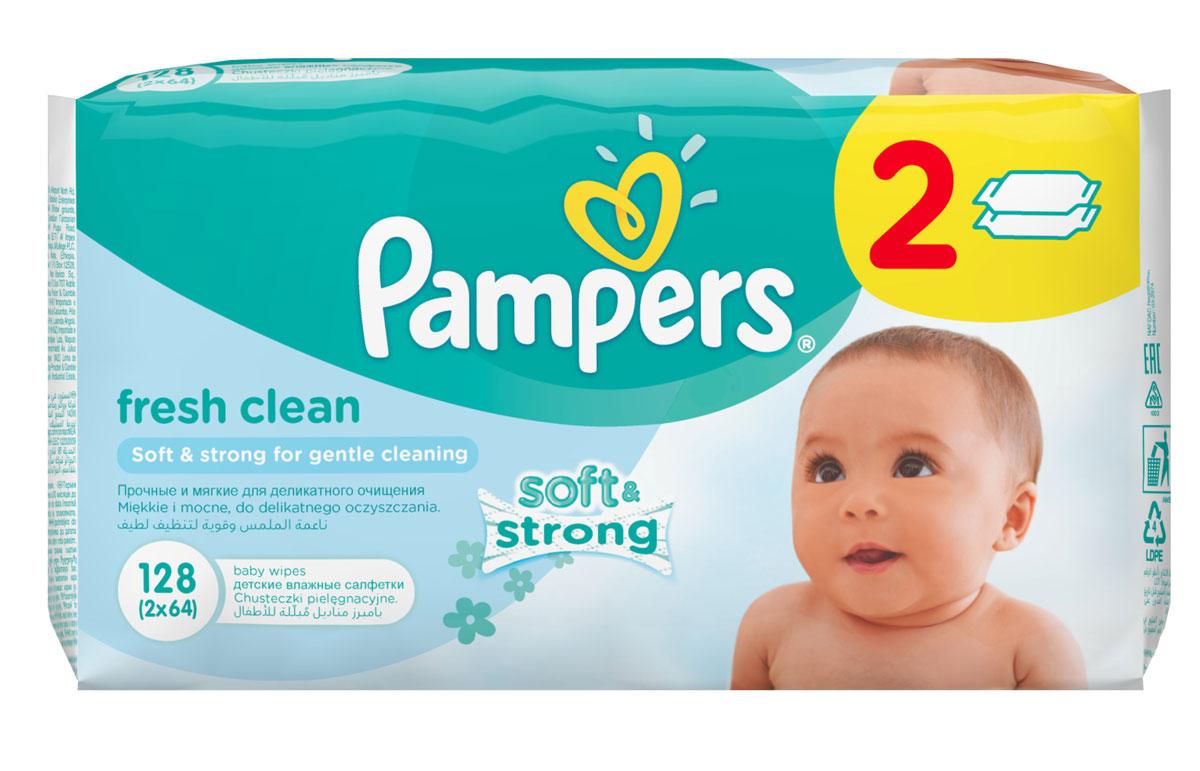 Pampers Детские влажные салфетки Baby Fresh Clean 128 штPA-81448477Каждый малыш нуждается в нежном очищении, именно поэтому влажные салфетки Pampers Baby Fresh с дополнительным увлажнением позволяют бережно заботиться о детской коже. Благодаря своей уникальной мягкой текстуре SoftGrip, они очищают кожу малыша еще нежнее, чем раньше, поддерживая естественный уровень pH, облегчая мамам смену подгузника. Не бойтесь сюрпризов с Pampers Baby Fresh! В упаковке 128 салфеток.