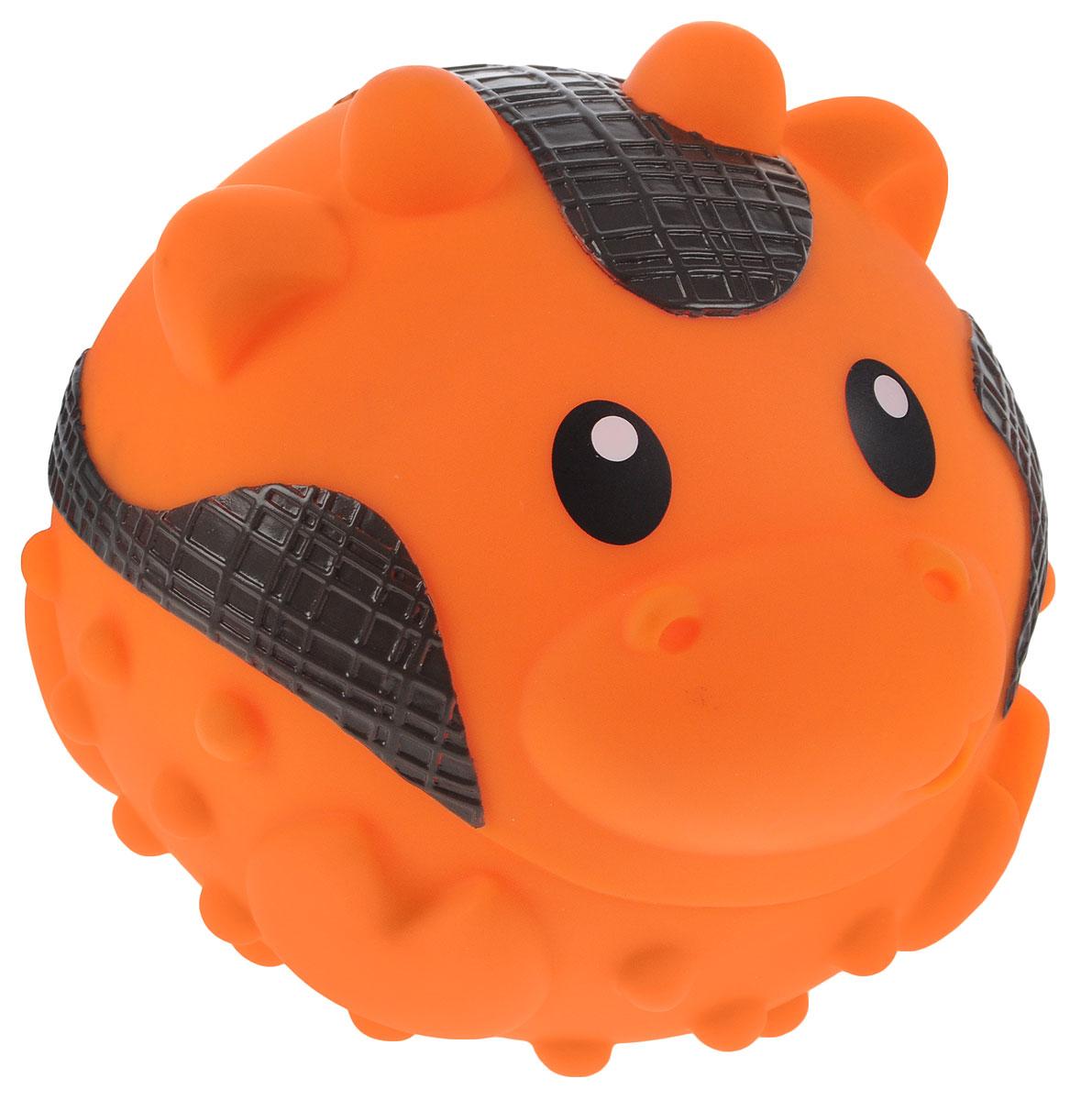 B kids Развивающая игрушка Коровка005178BВсе дети любят развлечения с мячами. Однако большая игровая фигурка Sensory из новой серии от Bkids – больше, чем просто мяч. Этот крупный пластмассовый шар выполнен в виде симпатичной зверюшки. Его поверхность покрывают рельефные выпуклости, ощупывая которые ребенок учится различать тактильные ощущения. Кроме того, шар издает звук, который очень нравится малышам. Не забудьте посмотреть маленькие игровые шарики Sensory, которые можно купить на нашем сайте в ассортименте Предназначено для детей в возрасте старше 6 месяцев.