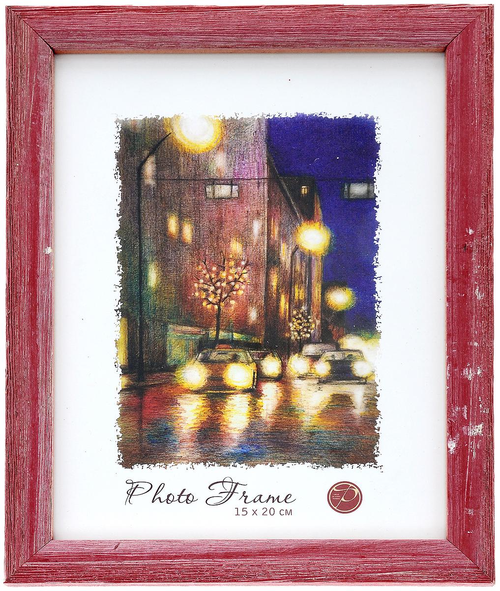Фоторамка Pioneer Adele, цвет: красный, 15 x 20 см9589101_красныйФоторамка Pioneer Adele, выполненная из дерева, предназначена для фотографии размером 15 х 20 см. Стекло защищает фотографию. Задняя сторона рамки оснащена специальной ножкой, благодаря которой ее можно поставить на стол или любое другое место в доме или офисе. Также изделие имеет крепления для подвешивания на стену. Такая фоторамка поможет вам оригинально и стильно дополнить интерьер помещения, а также позволит сохранить память о дорогих вам людях и интересных событиях вашей жизни. Размер фоторамки: 22,2 х 17,2 см.