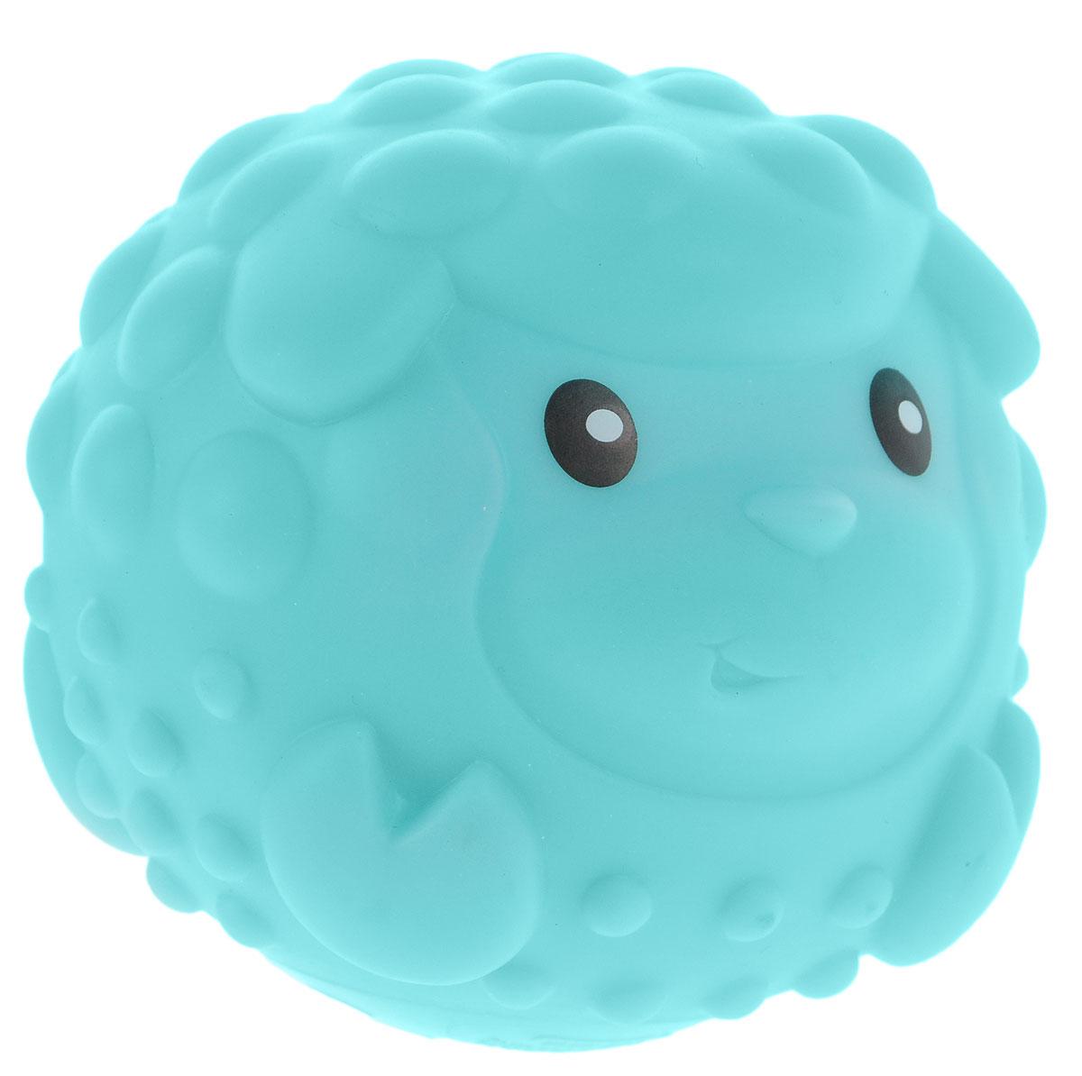 B kids Развивающая игрушка-пищалка Овечка905177BВсе дети любят развлечения с мячами. Развивающая игрушка-пищалка B kids Овечка - больше, чем просто мяч. Этот приятный на ощупь шар выполнен в виде симпатичной зверюшки. Его поверхность покрывают рельефные выпуклости, ощупывая которые ребенок развивает тактильные ощущения. Кроме того, шар издает звук, который очень нравится малышам. Предназначено для детей от 6 месяцев.
