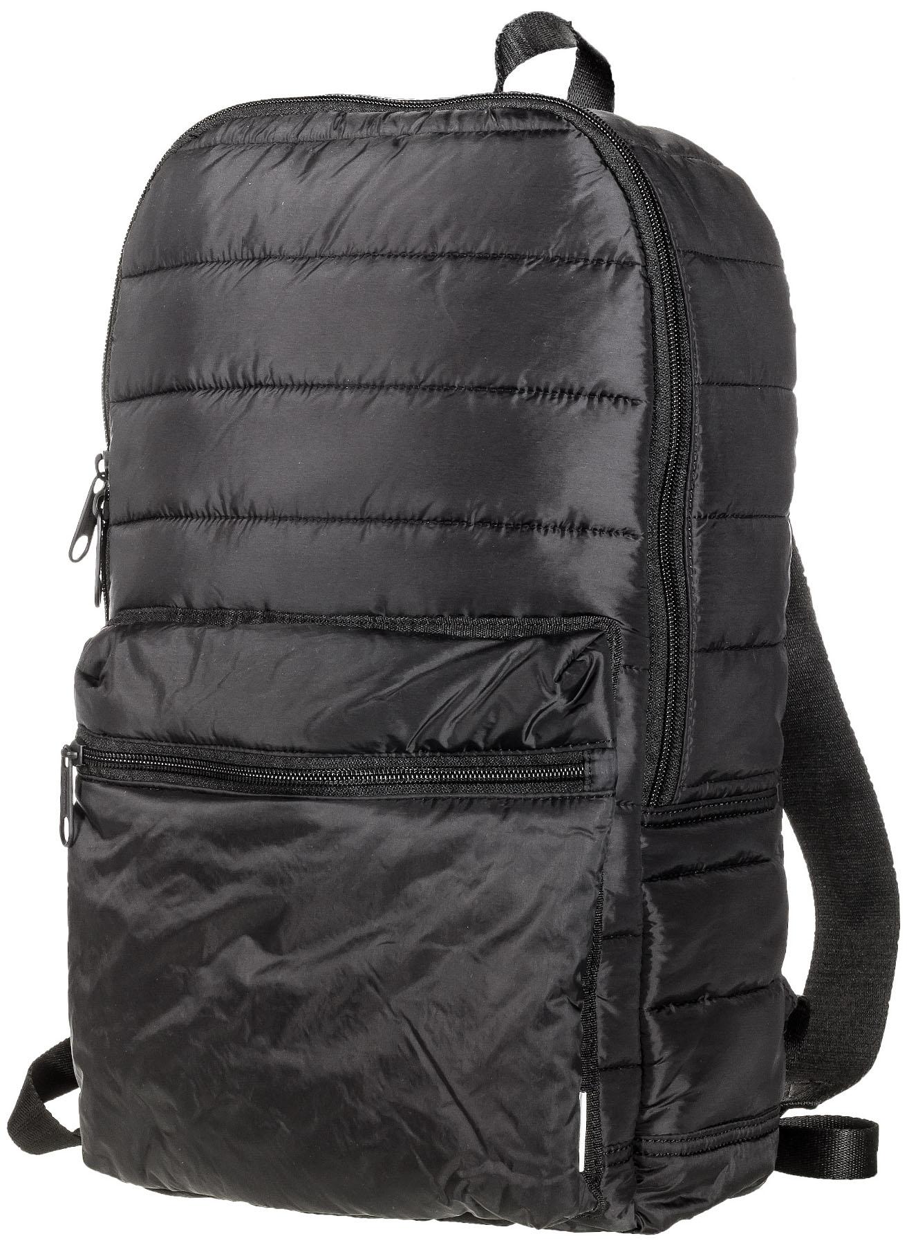 Рюкзак городской Converse Packable Backpack, цвет: черный. 1000133100110001331001