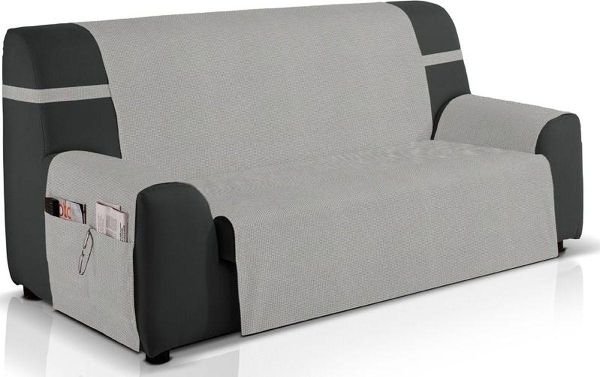 Чехол на диван Медежда «Иден», двухместный, цвет: светло-серый  комплект диван и кресло кровать в москве