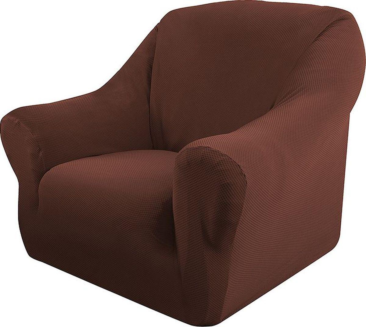 Чехол на кресло Медежда «Бирмингем», цвет: шоколадный  угловой диван кровать размеры