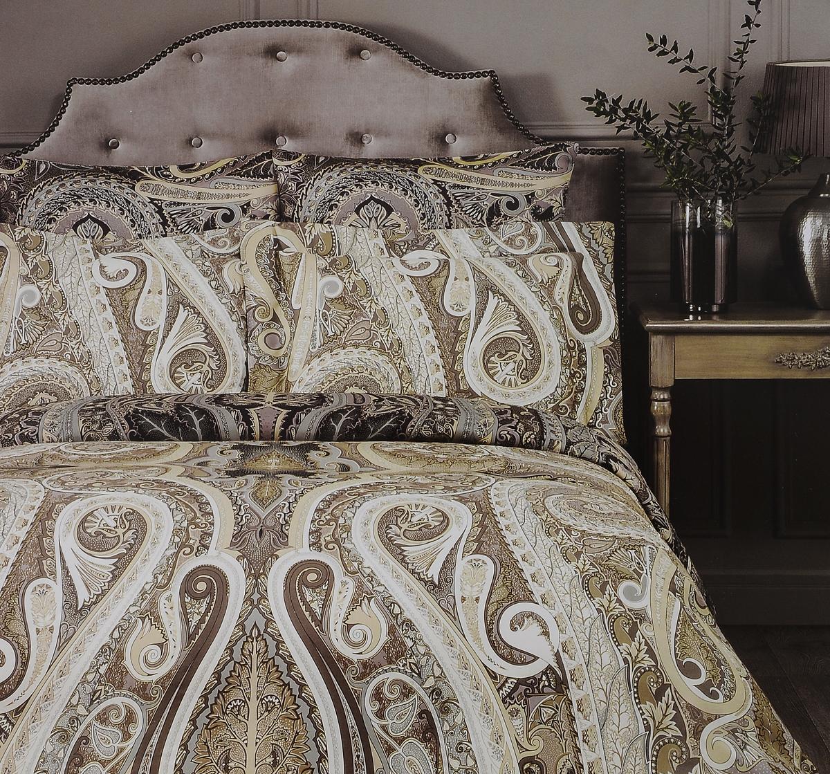 Комплект белья Togas Амрита, евро, наволочки 50x7030.07.28.0472Комплект постельного белья Togas Амрита, выполненный из 100% тенселя, состоит из пододеяльника, простыни и 2 наволочек. Изделия имеют классический крой и декорированы ярким принтом. Тенсель - материал натурального происхождения, который изготавливают из древесины австралийского эвкалипта и подвергают нанообработке. Комплект постельного белья Togas Амрита гармонично впишется в интерьер вашей спальни и создаст атмосферу уюта и комфорта.