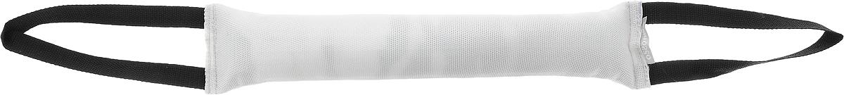 Игрушка для собак OSSO Fashion Кусалка, с двумя ручками, цвет: белый, черный, длина 40 смИк-1005_белый, черныйИгрушка OSSO Fashion Кусалка предназначена для игр и развития спортивных навыков собаки, в том числе для игр, развивающих хватку. Может использоваться в качестве апортировочного предмета. Каркас изготовлен из высококачественного лавсана, а набивка выполнена из полиэтилена. Изделие оснащено двумя удобными ручками. Игрушка OSSO Fashion Кусалка является необыкновенно интересной и привлекательной для собак. Длина игрушки (без учета ручек): 40 см. Длина ручки: 20 см.