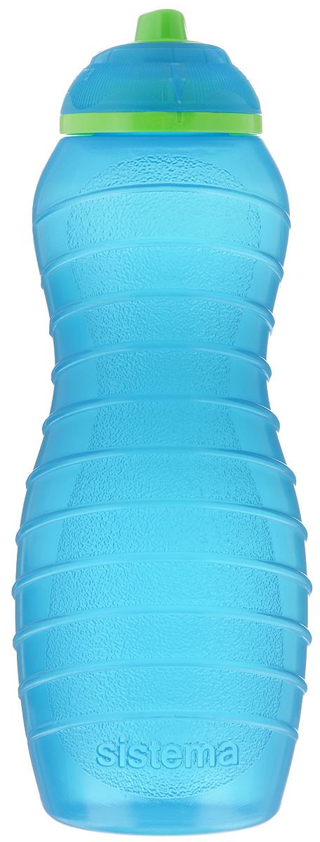 Бутылка для воды Sistema Twist n Sip, цвет: голубой, 700 мл745NW_голубойБутылка для воды Sistema Twist n Sip изготовлена из прочного пищевого пластика без содержания фенола и других вредных примесей. Поверхность бутылки снабжена рельефом и специальными выемками для удобного хвата. Бутылка имеет уникальную запатентованную систему крышки Twist n Sip, которая предотвращает выливание жидкости и в то же время позволяет удобно пить напитки. С такой бутылкой вы сможете где угодно насладиться вашими любимыми напитками.
