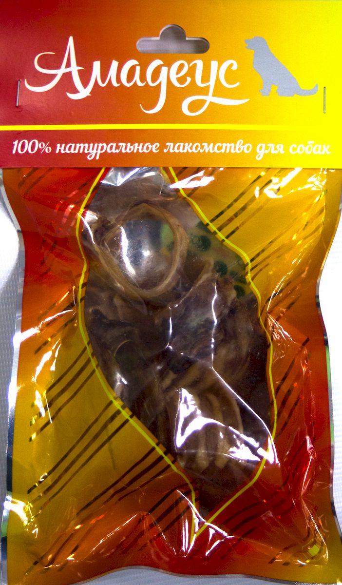 Лакомство для собак Амадеус Трахея большая колечками баранья, 5 шт58536Лакомство для собак Амадеус Трахея большая колечками баранья - 100% натуральный продукт почти без запаха, а также без содержания химических добавок. При сушке не использовались отбеливатели и консерванты. Лакомство изготавливается из тщательно отобранного и проверенного высококачественного отечественного сырья. Содержит низкокалорийный, легкоусвояемый, гипоаллергенный белок. Продукт богат витаминами и ферментами микрофлоры желудка жвачных животных. В упаковке 5 колечек трахеи. Рекомендовано для профилактики витаминного и ферментного дефицита у собак и кошек всех пород и возрастов. Товар сертифицирован.
