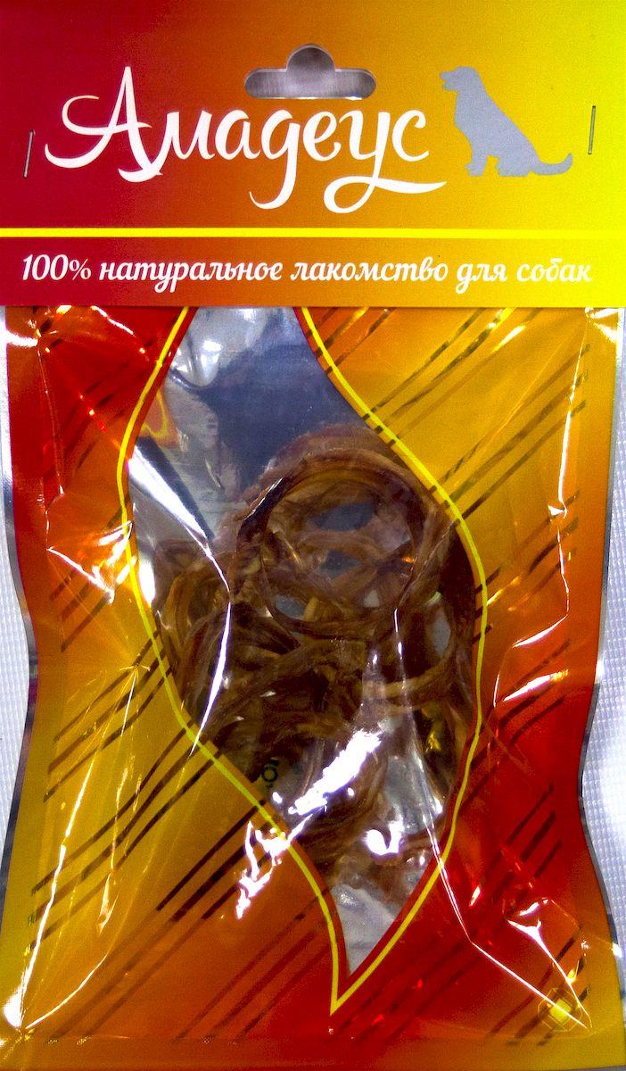 Лакомство для собак Амадеус Трахея малая колечками говяжья, 10 шт58541Лакомство для собак Амадеус Трахея большая колечками говяжья - 100% натуральный продукт почти без запаха, а также без содержания химических добавок. При сушке не использовались отбеливатели и консерванты. Лакомство изготавливается из тщательно отобранного и проверенного высококачественного отечественного сырья. Содержит низкокалорийный, легкоусвояемый, гипоаллергенный белок. Продукт богат витаминами и ферментами микрофлоры желудка жвачных животных. В упаковке 10 колечек трахеи. Рекомендовано для профилактики витаминного и ферментного дефицита у собак и кошек всех пород и возрастов. Товар сертифицирован.
