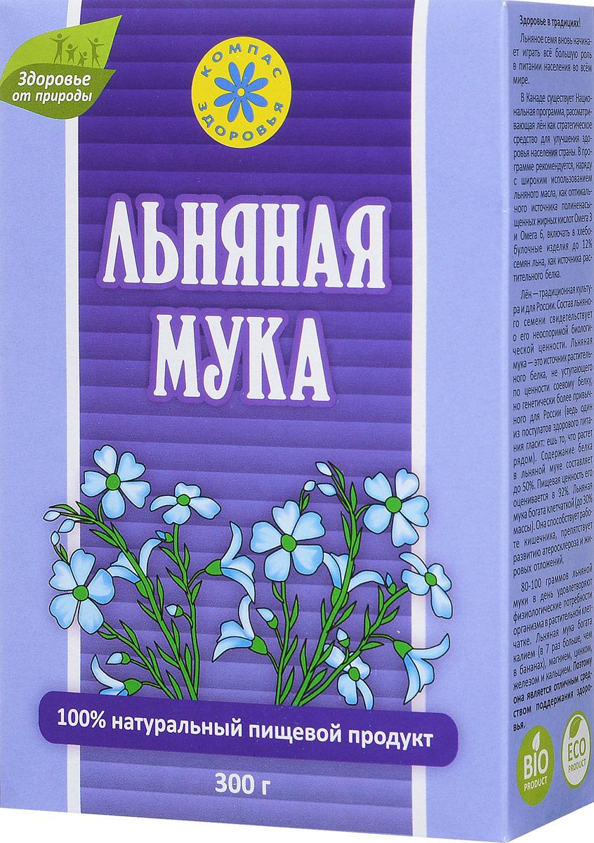 Компас Здоровья мука льняная, 300 г