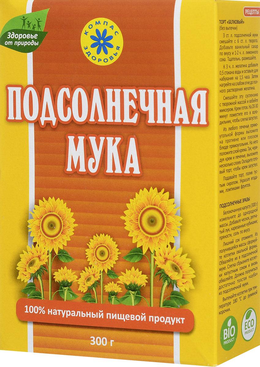 Компас Здоровья мука подсолнечная, 300 г