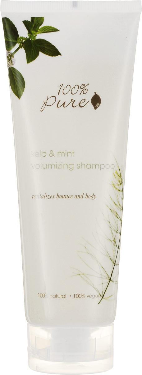 100% Pure Шампунь для объема волос Водоросли и Мята, 236 мл1HCSKMV8ozВодоросли и Мята - Шампунь для объема волос! Увлажняющие, супер мягкие шампуни нежно очищают кожу головы и придают волосам блеск, упругость и силу! Укрепляют волосы, делают их более сильными и здоровыми! Не содержат синтетических химических веществ, искусственных красителей, химических консервантов, сульфатов.