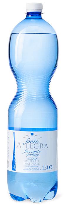 Fonte Allegra вода минеральная газированная, 1,5 л