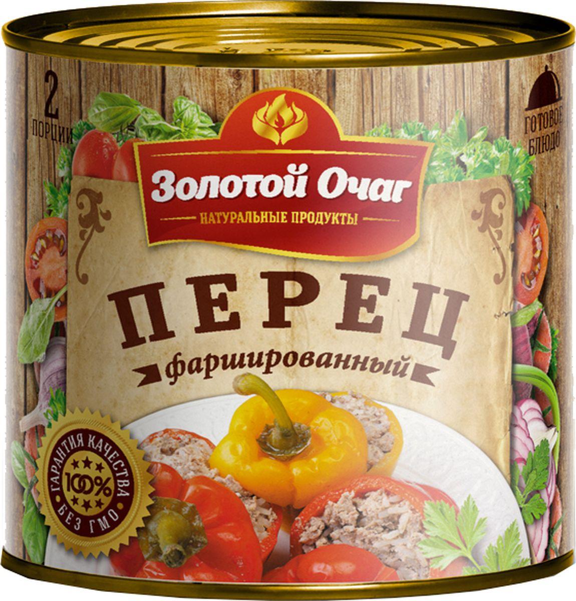 Золотой Очаг перец фаршированный мясом и рисом, 540 г4607816070027Продукт готов к употреблению. Перед употреблением рекомендуется разогреть.