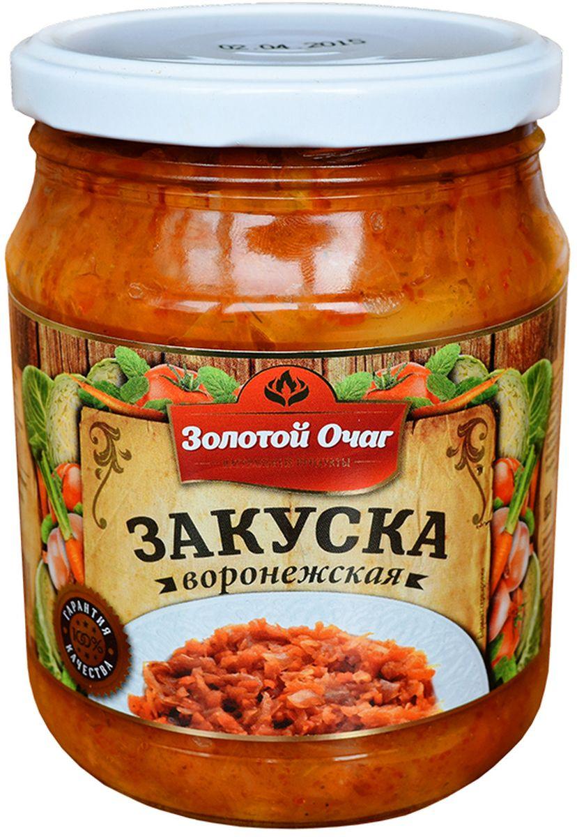Золотой Очаг закуска Воронежская, 500 мл