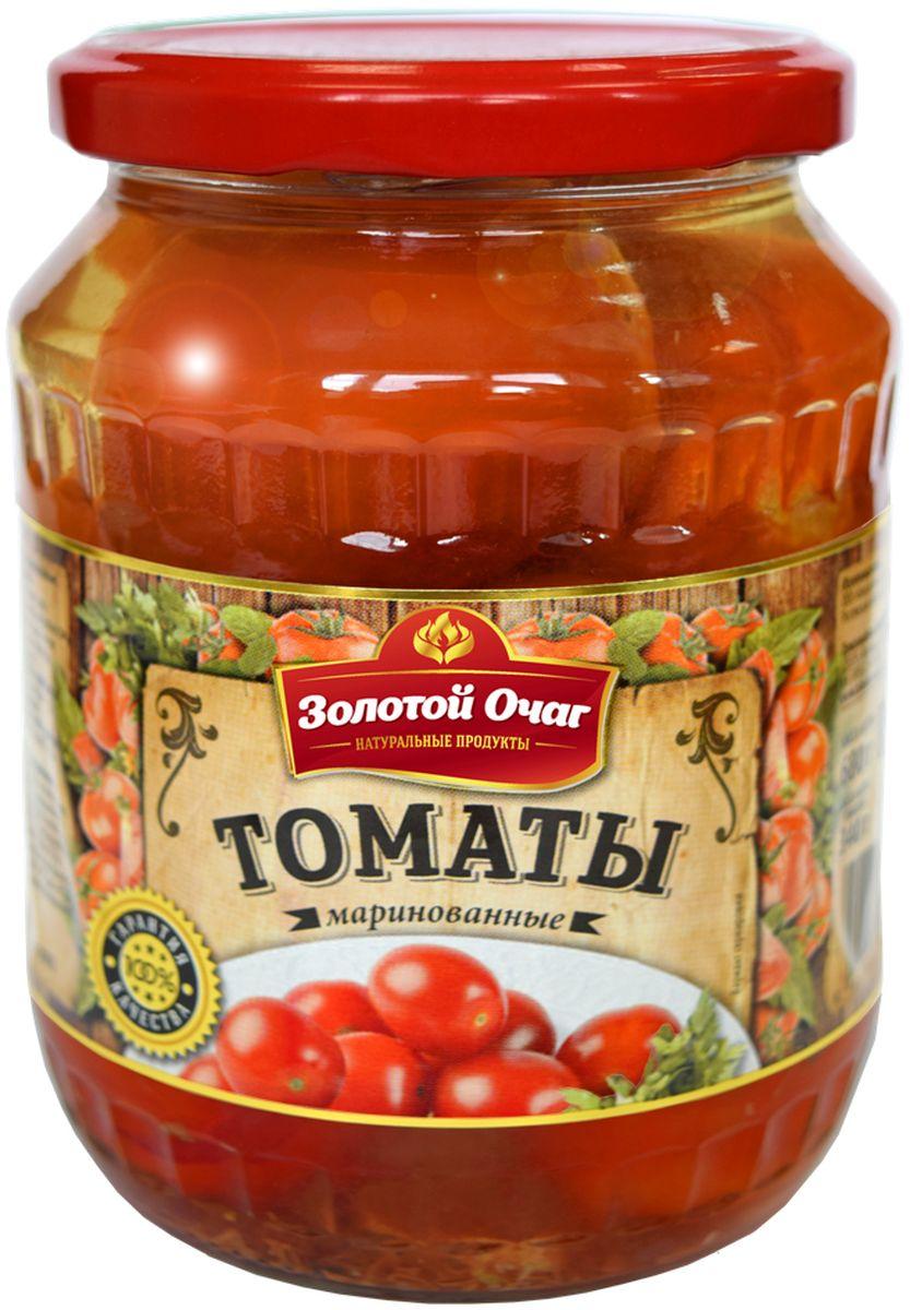 Золотой Очаг томаты маринованные, 680 г4607816070874Маринованные помидоры относятся к низкокалорийным продуктам, которые разрешается употреблять в период похудения и для поддержания идеальной формы.