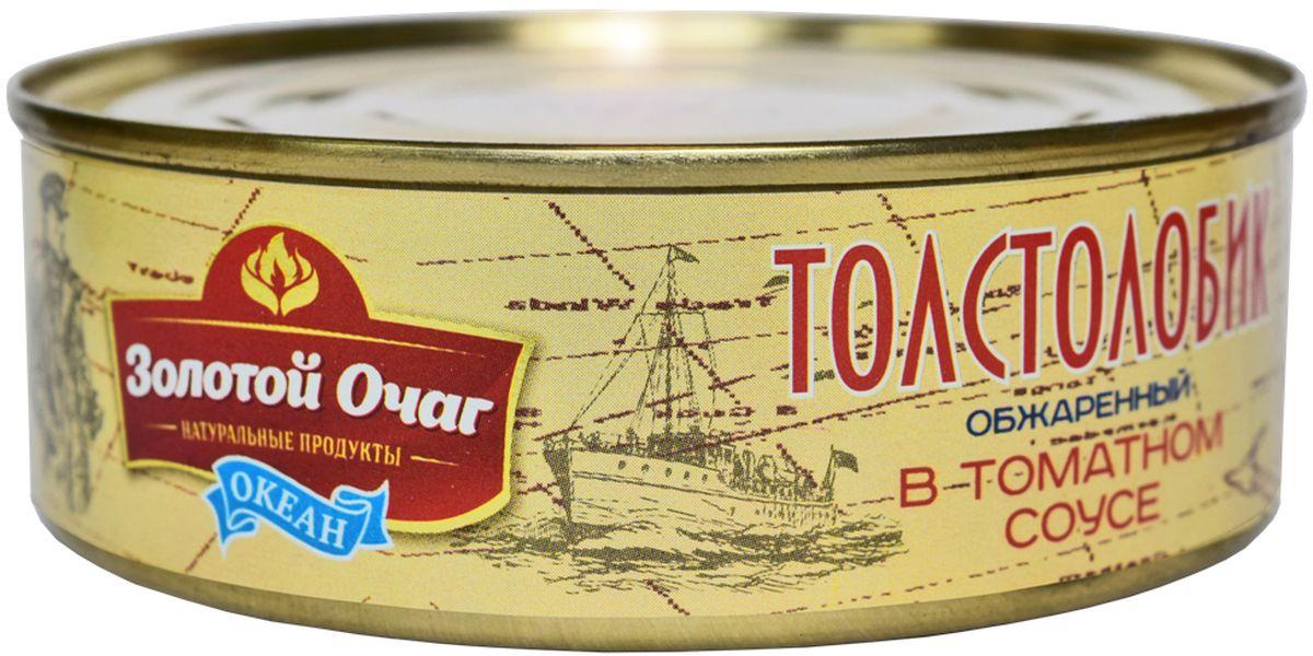 Золотой Очаг толстолобик обжареный в томатном соусе, 240 г4607816071048продукт полностью готов к употреблению.