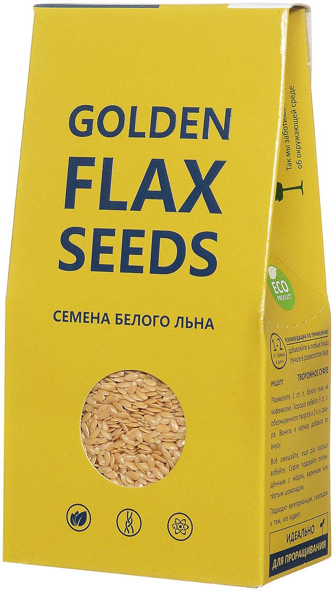 """Семена белого льна Компас Здоровья """"Golden Flax Seeds"""" идеальны для поддержания женского здоровья, молодости и долголетия. В семенах повышенное содержание клетчатки и фитостеринов. Они богаты макро- и микроэлементами, улучшают состояние кожи и волос. Белый лен - это особый сорт пищевого льна с повышенным содержанием клетчатки, фитостеринов, макро - и микроэлементов. Такое сочетание, словно самой природой, предназначено для поддержания женского здоровья, молодости и долголетия. Фитостерины препятствуют старению, смягчают проявления климакса, снижают риск появления опухолей, улучшают состояние кожи и волос. Макро- и микроэлементы предотвращают остеопороз, защищают от спазмов мышц и сосудов, поддерживают правильный состав крови, защищают от склеротических процессов. Клетчатка защищает от избыточного веса, регулирует уровень сахара и холестерина, улучшает опорожнение кишечника, предотвращает дисбактериоз. Идеально для проращивания."""