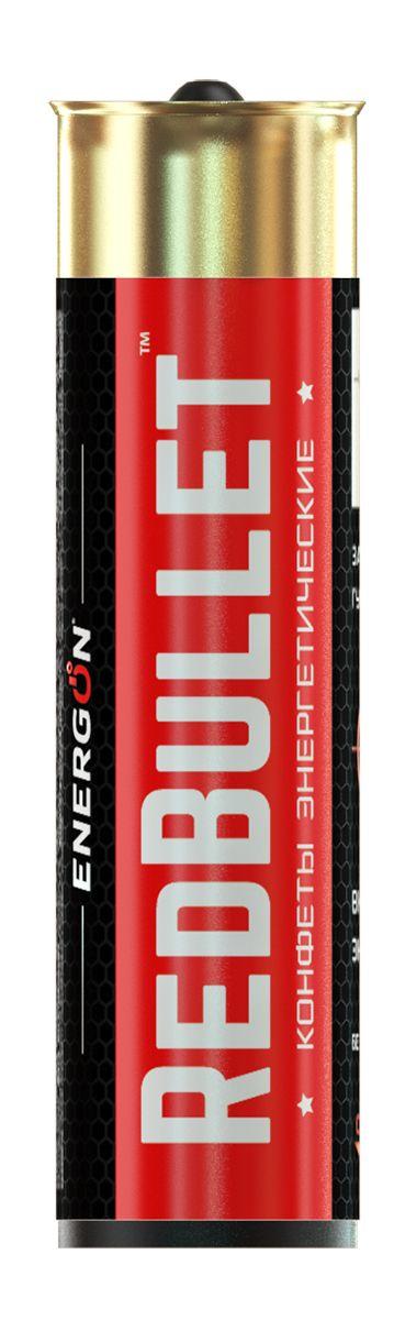 Energon Redbullet конфеты энергетические, 6 шт47050683800010Конфеты ЭНЕРГОН содержат тонизирующий комплекс на основе натурального кофеина из ягод гуараны и экстракта зеленого чая, экстракта мяты, ментола: освежает и заряжает энергией и бодростью, повышает концентрацию внимания, улучшает реакцию, помогает бороться с сонливостью и усталостью Не рекомендуется принимать: Более двух драже в сутке ограничение по возрасту до 18 лет Беременным и кормящим женщинам Лицам страдающим гипертензией Индивидуальная не переносимость компонентов
