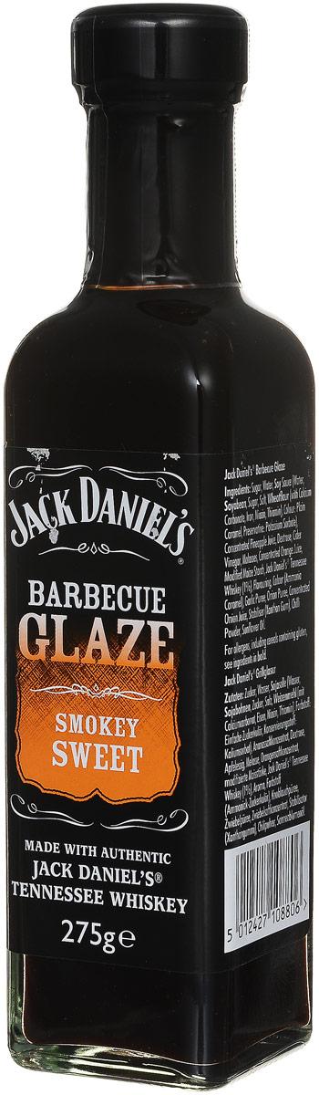 Jack Daniels Сладкий дым соус для барбекю, 275 г5012427108806Изысканный соус для барбекю Jack Daniels Сладкий дым, приготовленный с добавлением виски. Отличается пикантным кисло-сладким вкусом и пряным ароматом с дымными нотками. Продукт готов к употреблению. Идеально подходит для мяса, рыбы или овощей.