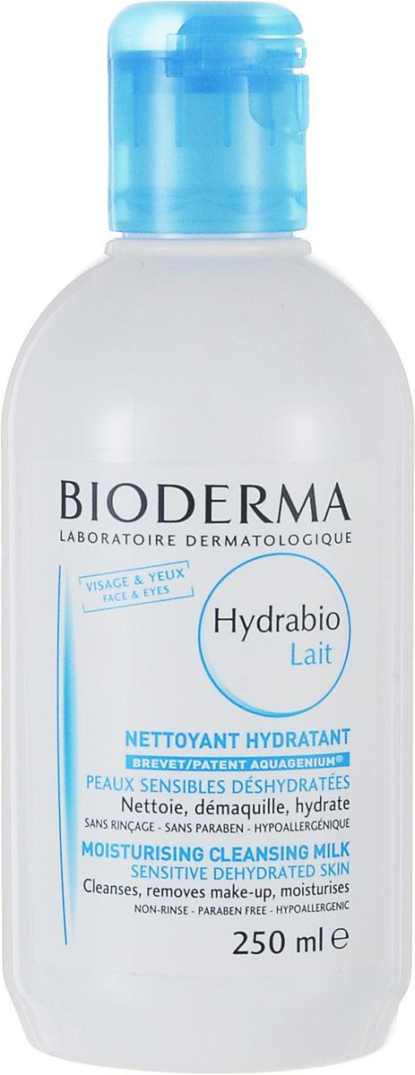 Bioderma Молочко для очищения лица Hydrabio, 250 мл028361BОчищающее средство, обладающее мягкостью молочка и свежестью воды восстанавливает механизм увлажнения, мягко очищает кожу, увлажняет, устраняет дискомфорт. Великолепная переносимость. Биологический запатентованный комплекс Акважениум воздействует на механизмы, приводящие к накоплению влаги, удержанию ее на поверхности, что необходимо для сохранения естественного баланса. Возвращает коже комфорт, мягкость и сияние.