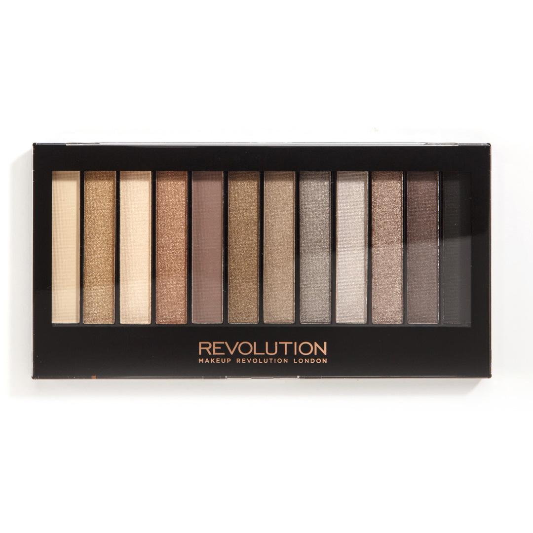 Makeup Revolution Набор теней Redemption Palette, Iconic 2, нюдовая, 14 гр13354Must have в любой косметичке, эта палетка покорит тебя не только беспроигрышной палитрой из самых популярных оттенков теней, но и целой сокровищницей финишей - от совершенно матового до ослепительно шиммерного!