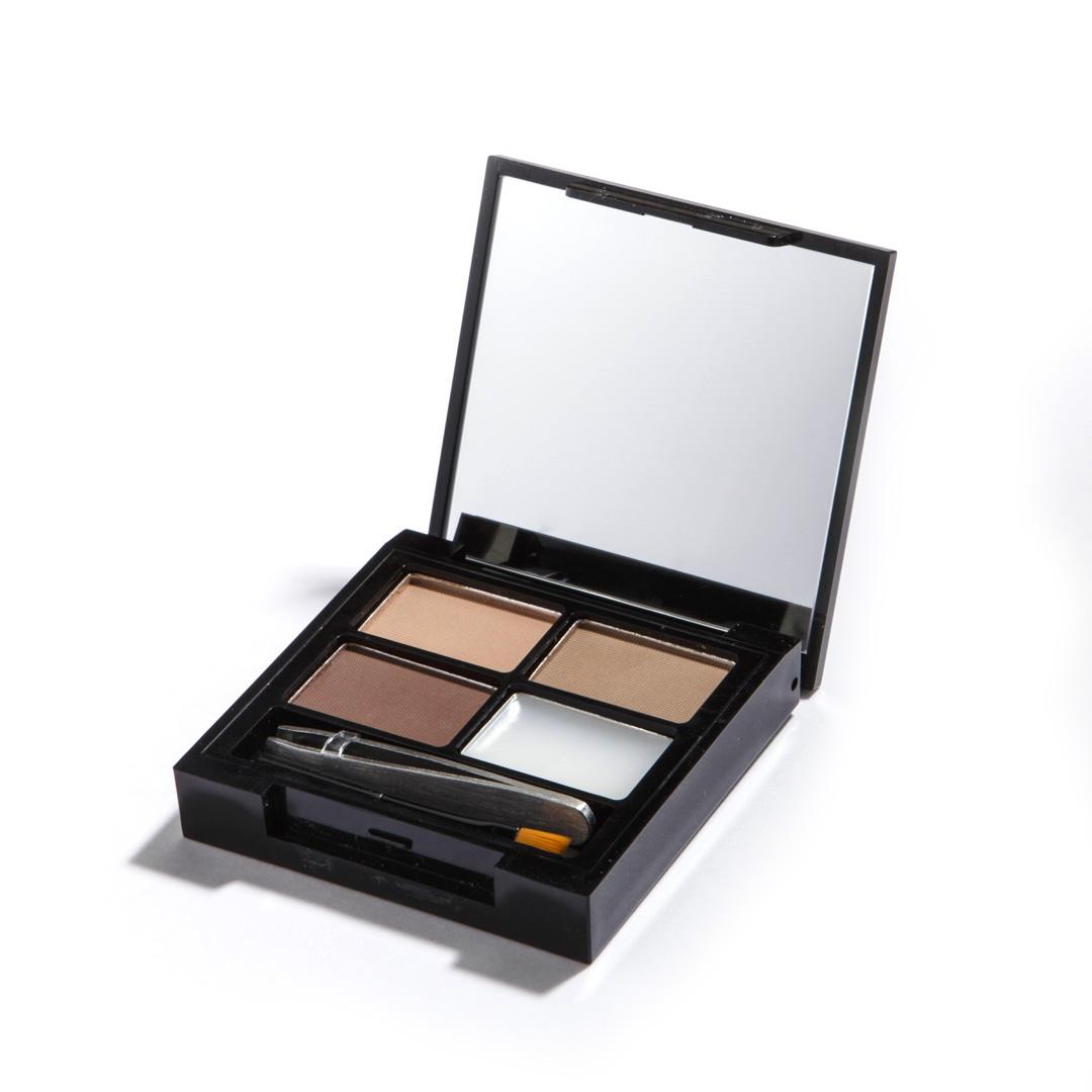 Makeup Revolution Набор для бровей Focus & Fix Eyebrow Shaping Kit, Light Medium, 4 гр14177Палетка включает в себя все необходимое для того, чтобы выполнить идеальный макияж бровей - 3 оттенка теней, фиксирующий форму воск, аппликатор для нанесения и пинцет. Тени легко смешиваются между собой, что позволяет добиться идеального попадания в естественный для вас оттенок.