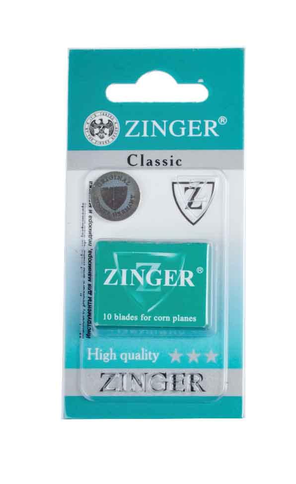 Zinger Лезвия для экстрактора zo-BLADES-10-1, 10 штук64602Комплект лезвий для педикюрного станка
