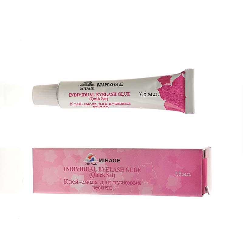 Mirage Клей-смола для ресниц прозрачная, 7,5 гр