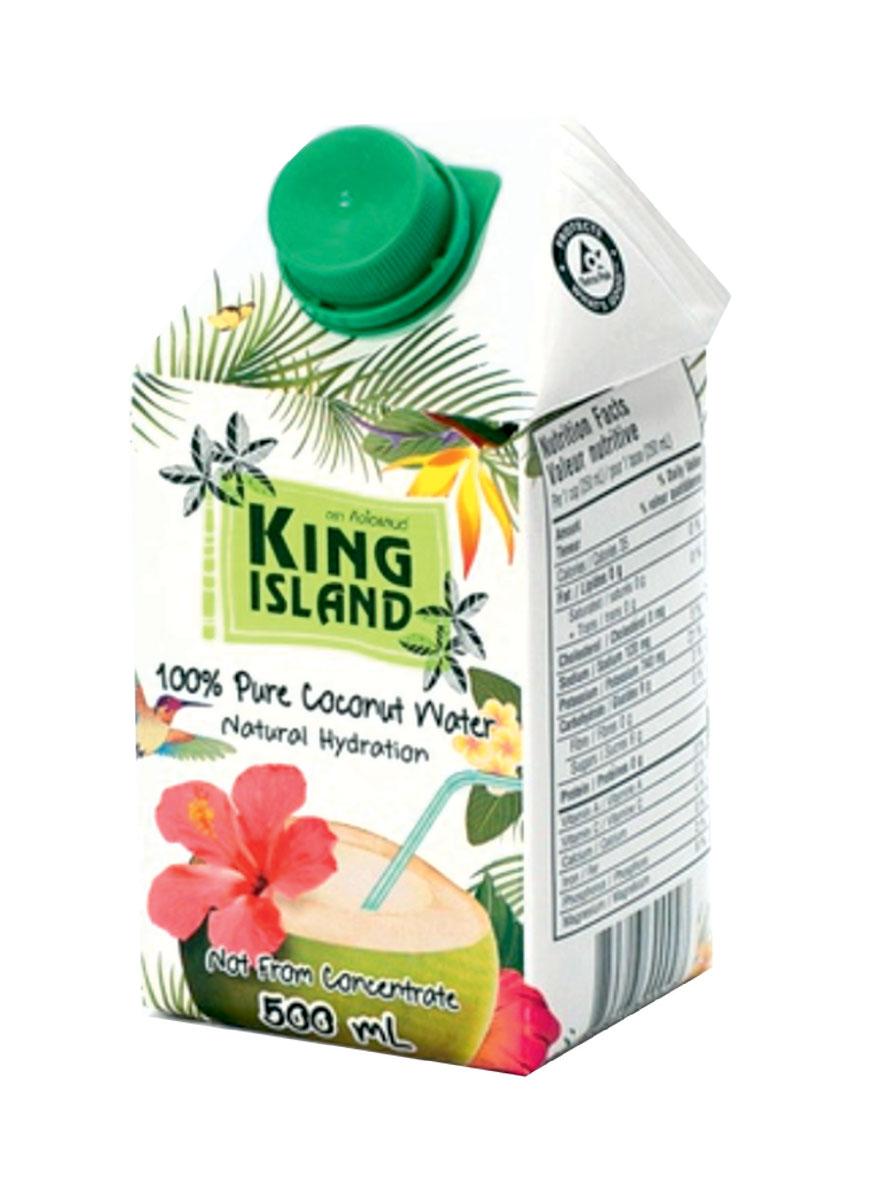 King Islamd кокосовая вода без сахара, 500 мл 11134167