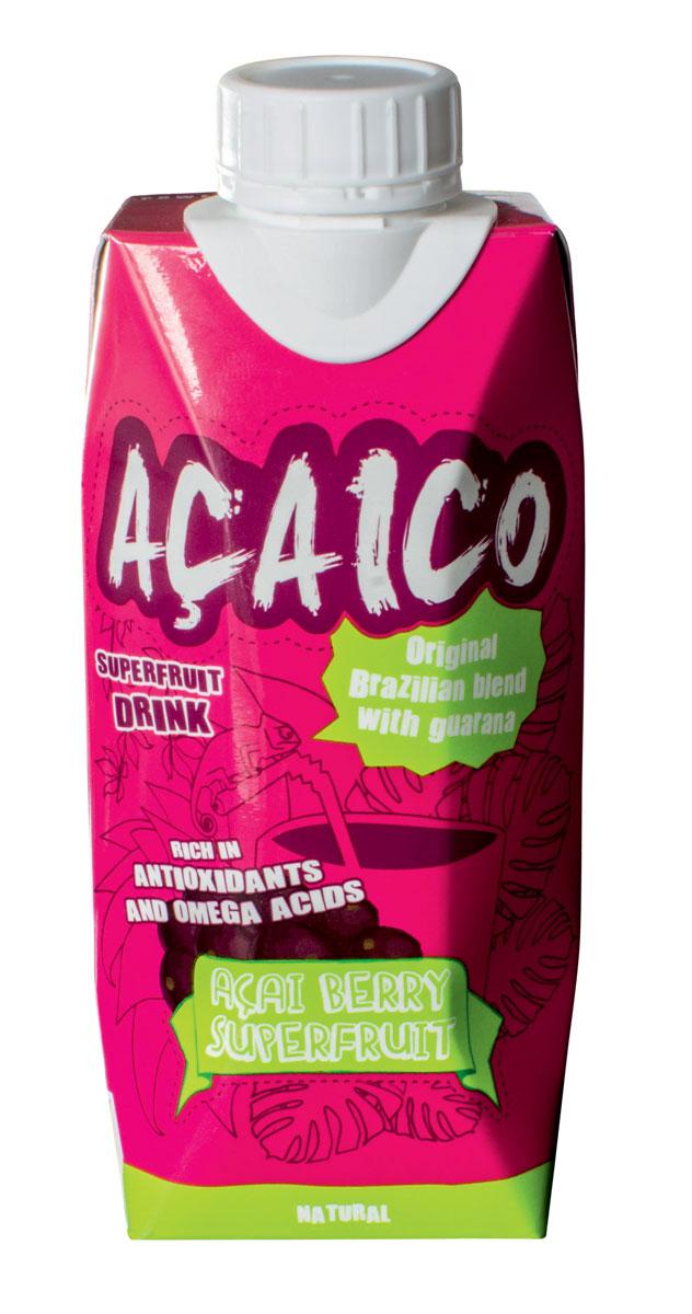 Acaico натуральный напиток с ягодой асаи, 330 мл 11136833