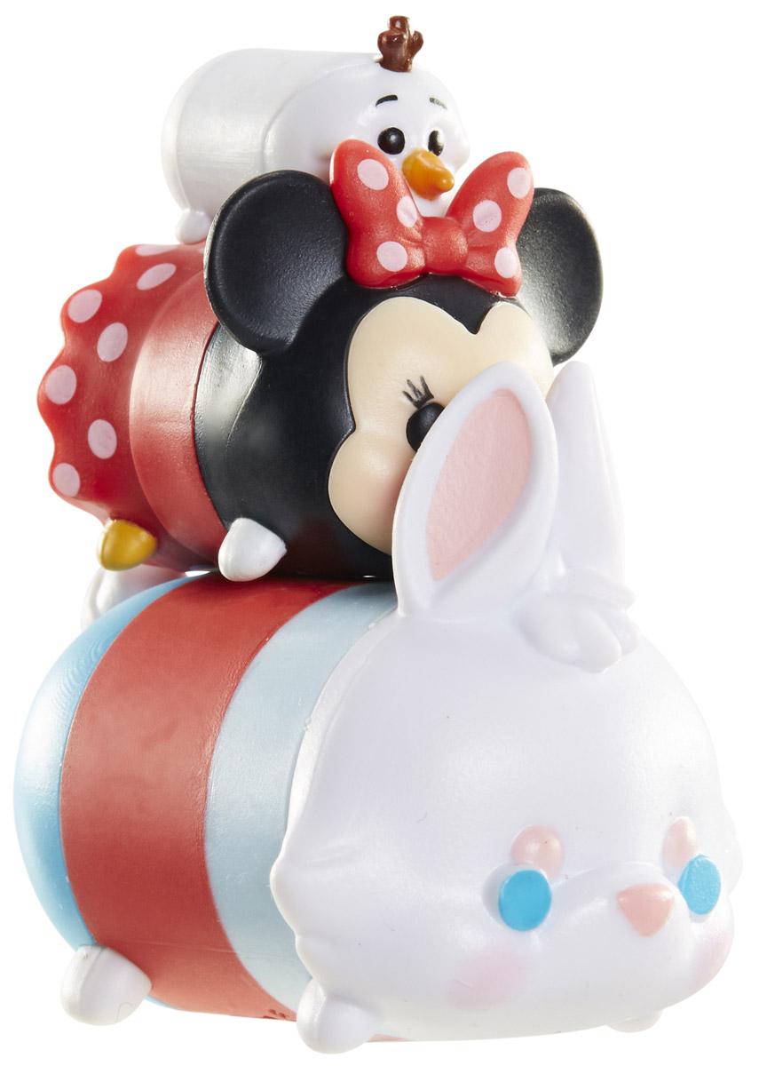 Tsum Tsum Набор фигурок Олаф Минни Белый кролик980080_176/105/139Tsum Tsum - это небольшие коллекционные фигурки, изображающие различных персонажей детских мультфильмов Дисней. Они очень яркие, качественно сделаны и выглядят весьма привлекательно. В набор входят 3 фигурки разных размеров. Отличительной особенностью игрушек является то, что их можно сцеплять друг с другом, усаживая на спины - таким образом, у вас получится подобие оригинальной башенки. Соберите целую коллекцию фигурок! В наборе фигурки под номерами 176, 105, 139.