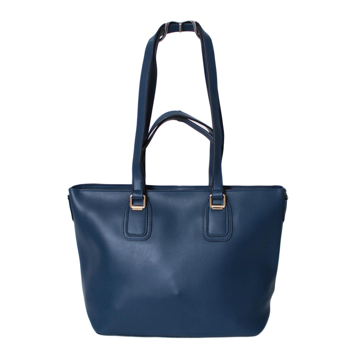 Сумка женская Flioraj, цвет: синий. 0005271800052718Закрывается на молнию. Внутри одно отделение. К сумке в наборе идет косметичка и длинный ремень.