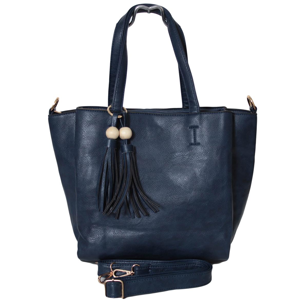 Сумка женская Flioraj, цвет: синий. 0005290400052904Закрывается на молнию. Внутри одно отделение, один карман на молнии и один открытый. На передней и задней стенки карманы на декоративных клапанах. В комплекте есть длинный ремень.