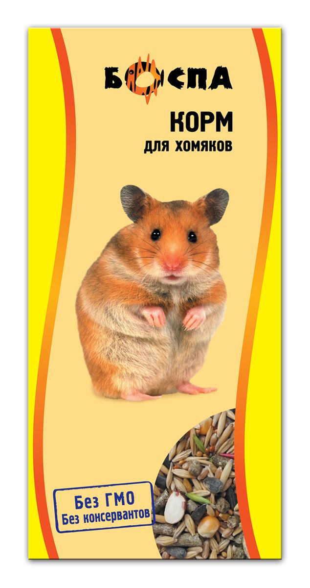 Корм для хомяков Боспа, 500 гЕ140Полнорационный корм для домашних животных