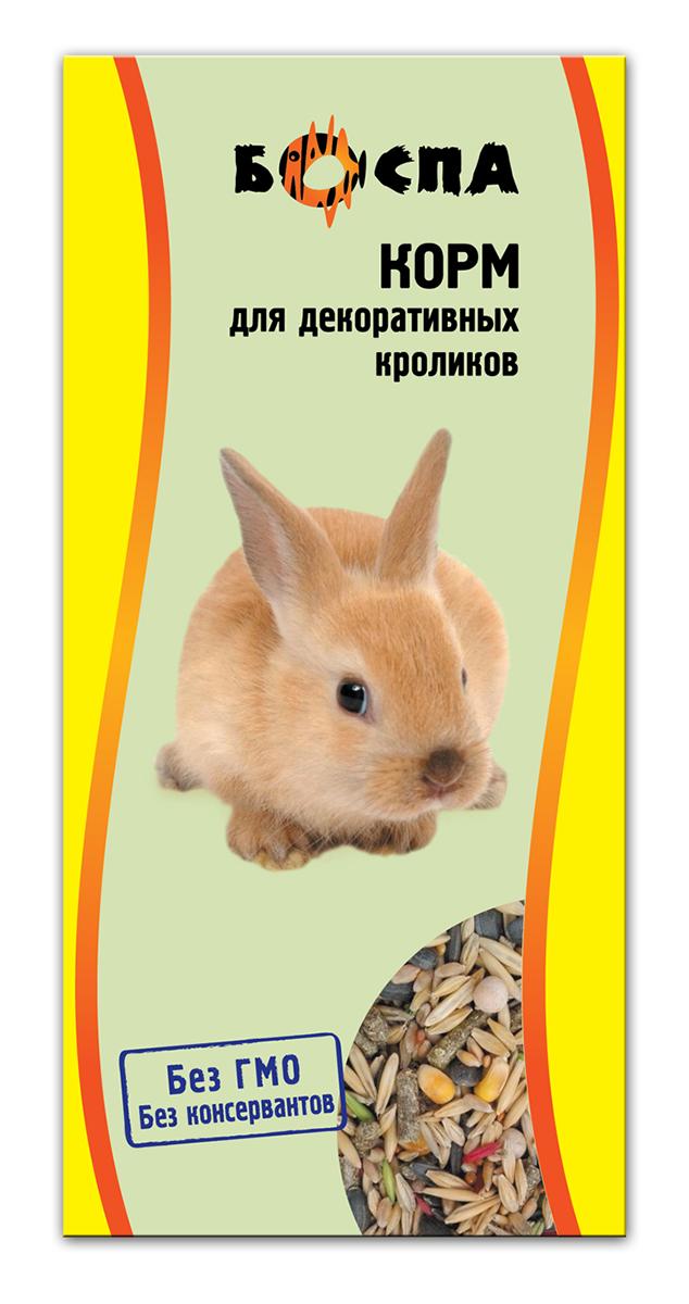Корм для декоративных кроликов Боспа, 500 гЕ141Полнорационный корм для домашних животных