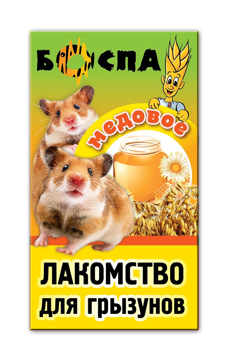 Лакомство для грызунов с медом 3 в 1 Боспа Груша, 100 гЕ380Лакомство для домашних животных, дополнение к полнорационному корму