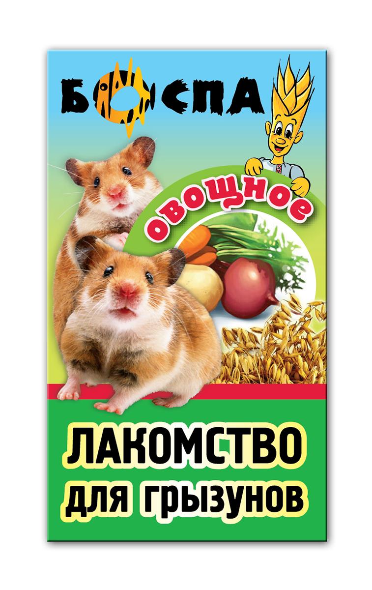 Лакомство для грызунов с овощами 3 в 1 Боспа Груша, 100 гЕ381Лакомство для домашних животных, дополнение к полнорационному корму