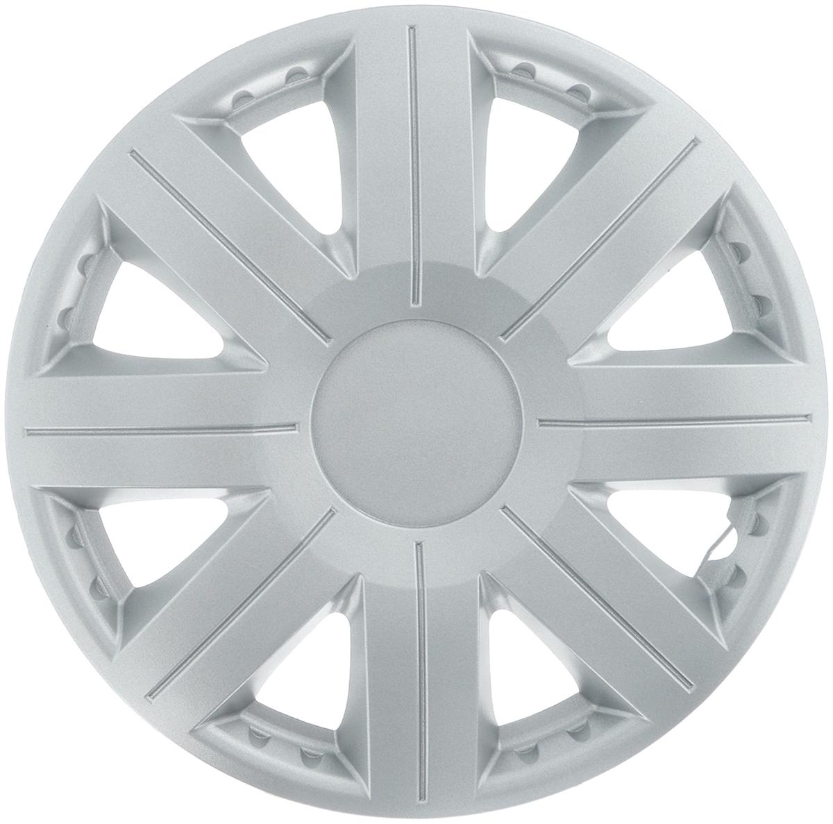 Колпак защитный Phantom Космос, R13 , декоративный, 1 шт. PH5757PH5757Колпак Phantom Космос предназначен для защиты колесного диска и тормозной системы от загрязнений, а также для декоративного украшения автомобиля. Колпак изготовлен из высококачественного масло- бензостойкого пластика, а крепление в виде распорного кольца - из металла. Размер колеса: R13. Диаметр колпака: 37 см.