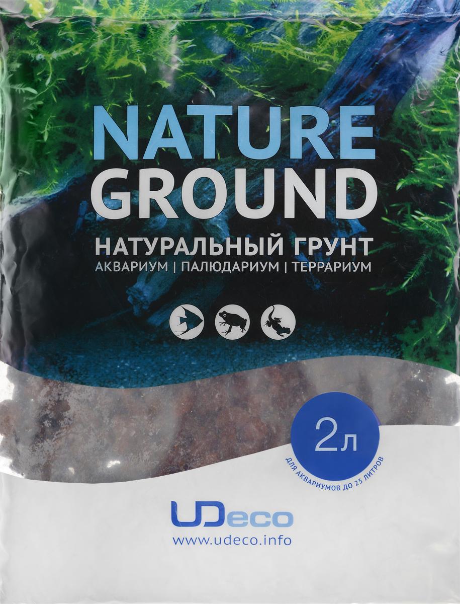 Грунт для аквариума UDeco Лавовая крошка, натуральный, 10-30 мм, 2 лUDC425082Натуральный грунт UDeco Лавовая крошка предназначен специально для оформления аквариумов, палюдариумов и террариумов. Изделие готово к применению. Грунт UDeco порадует начинающих любителей природы и самых придирчивых дизайнеров, стремящихся к созданию нового, оригинального. Такая декорация придутся по вкусу и обитателям аквариумов и террариумов, которые ещё больше приблизятся к природной среде обитания. Необходимое количество грунта рассчитывается по формуле: длина аквариума х ширина аквариума х толщина слоя грунта. Предназначен для аквариумов до 25 литров. Фракция: 10-30 мм. Объем: 2 л.
