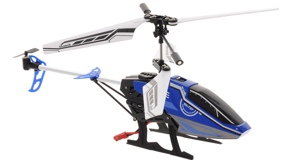 Silverlit Вертолет на радиоуправлении Sky Fury цвет синий84749Вертолет на радиоуправлении Silverlit Sky Fury привлечет внимание не только ребенка, но и взрослого, и станет отличным подарком любителю воздушной техники. Вертолет имеет трехканальное дистанционное управление. Возможные движения: вверх, вниз, вправо, влево. Сверхточное цифровое управление позволяет совершать самые невероятные маневры. Встроенный гироскоп гарантирует стабилизацию полета в любых условиях. Пульт управления работает на частоте 2,4 ГГц, что позволяет управлять несколькими вертолетами без перебивания сигнала. Модель вертолета идеально подходит для игры внутри помещения. Каждый полет вертолета будет максимально комфортным и принесет вам яркие впечатления! В комплекте: вертолет, пульт управления, две запасные детали автомата перекоса, запасной хвостовой винт, USB-кабель, инструкция по эксплуатации на русском языке. Вертолет работает от встроенного аккумулятора. Заряжается аккумулятор через USB. Время зарядки: 50-60 минут. Время работы...