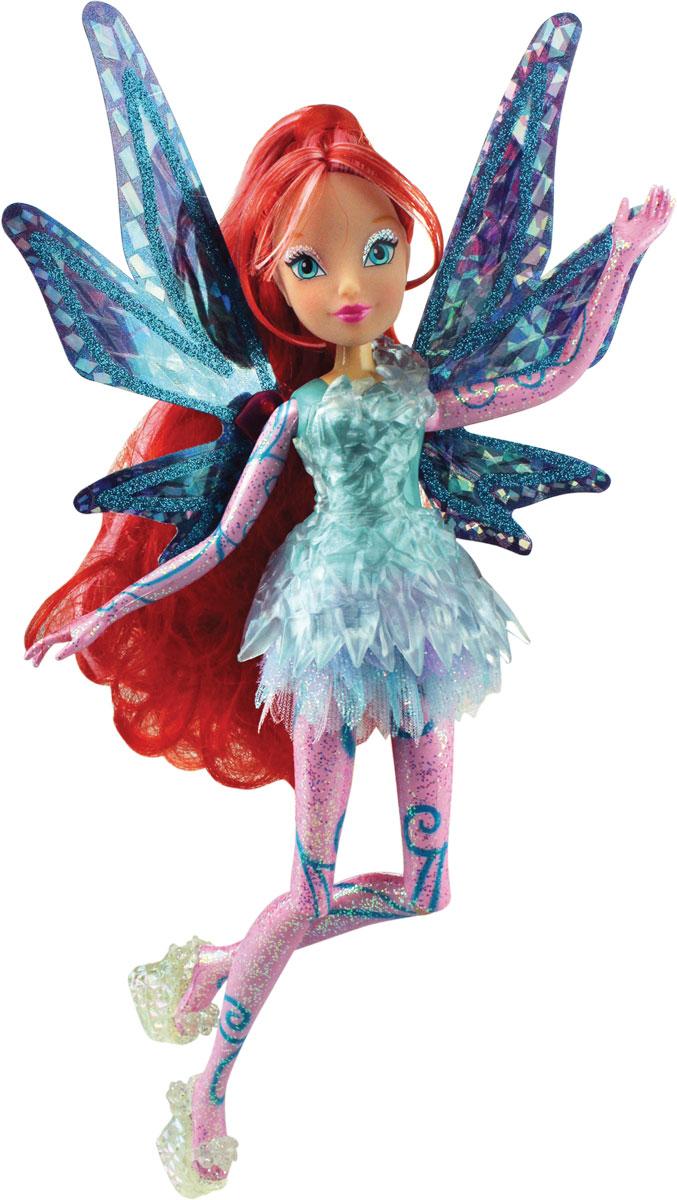 Winx Club Кукла Тайникс Bloom IW01371501IW01371501Кукла Winx Club Тайникс Bloom по-настоящему обрадует юных любительниц популярного мультсериала. Удивительный наряд и чудесная обувь, подвижные руки и ноги, шикарные волосы, съемные крылышки куклы - все это понравится всем поклонницам фей. Блум родилась зимой под знаком Зодиака Дракон. Ее любимый цвет - красный. Уверенная в себе Блум обожает читать книги о магии в поисках информации для совершенствования мастерства. Фея обожает смотреть романтические комедии и общаться со своей любимой подругой Стеллой. Получив силу Сиреникса, Блум обрела необыкновенное могущество в подводном мире! Вместе с куклой Блум в комплект входят съёмные крылышки,которые светятся и порхают с помощью простого механического рычажка совсем как у любимой героини, пластиковый элемент для платья, которое также светится.