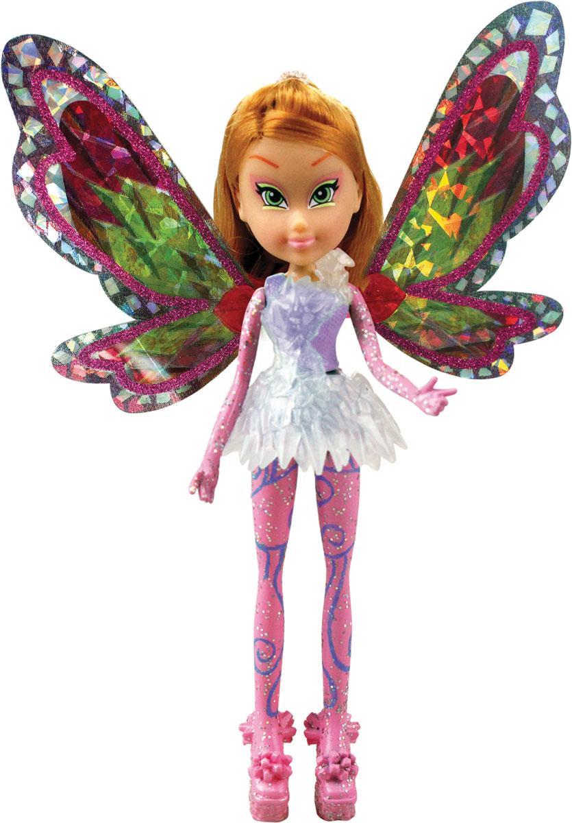 Winx Club Мини-кукла FloraIW01351500_FloraМини-кукла Winx Club Flora олицетворяет собой прекрасную подружку-фею, о которой мечтает каждая девочка, любящая этот мультфильм. У феи есть свои собственные волшебные крылышки, которые могут двигаться, сниматься и одеваться, когда ребенку захочется этого. Фея одета в красивое платье, а для крылышек у нее имеется специальное пластиковое крепление. Девочка будет счастлива, играя с красивой куклой, олицетворяющей ее любимую героиню. В набор также входит подставка под куклу. Соберите свою удивительную коллекцию кукол Винкс!